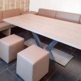 Keukenbank en tafel op maat