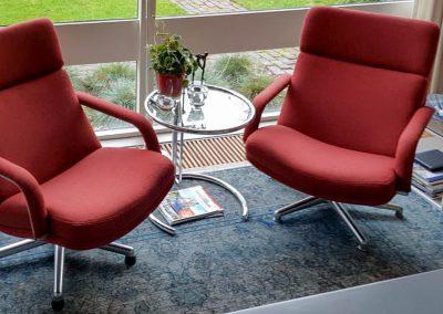 2 Artifort fauteuils